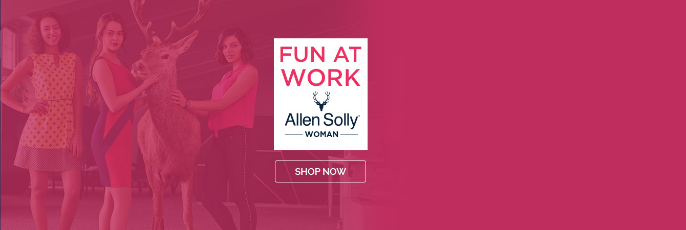 Allen Solly Official Online Store, Buy Allen Solly Clothes and