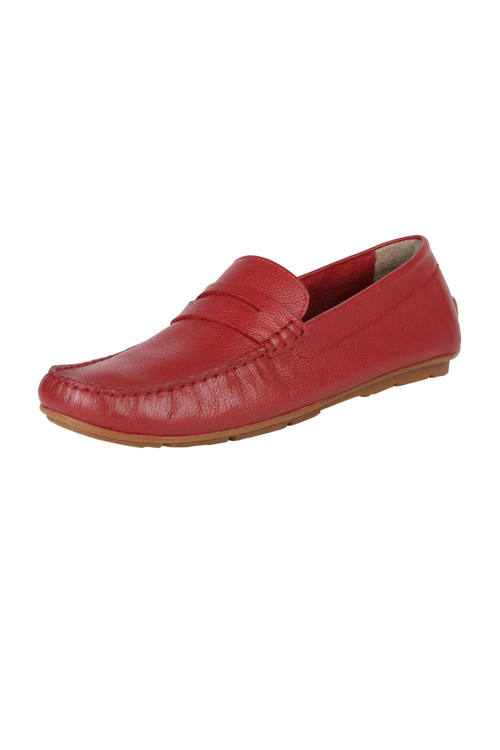Allen Solly Red Loafers