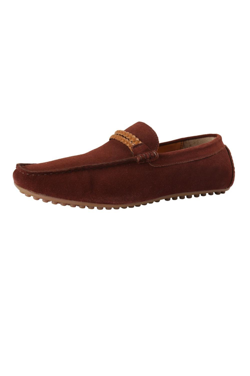 Allen Solly Brown Loafers for Men