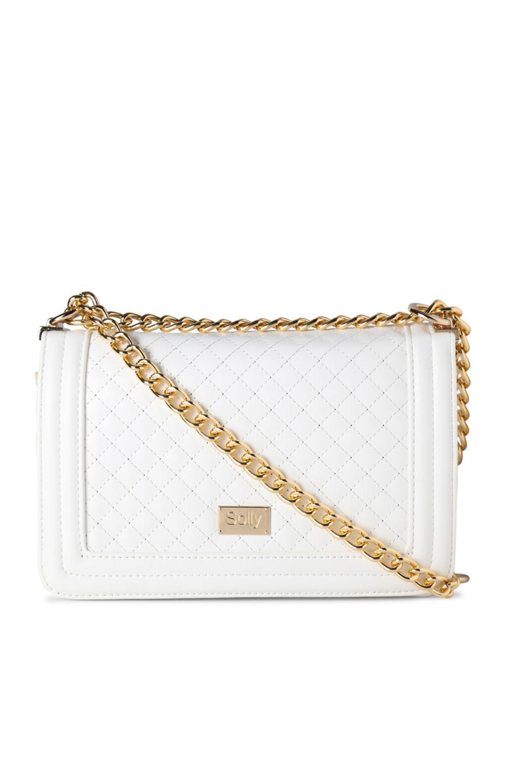 38f74d8433b Solly Fashion Accessories, Allen Solly White Sling Bag for Women at  Allensolly.com