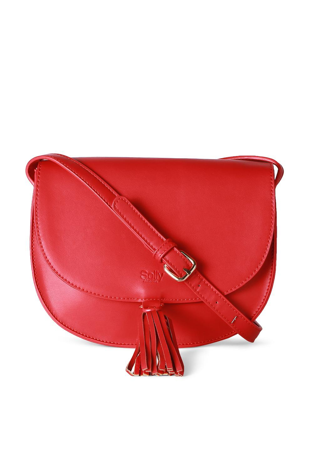 2ffc1348e Solly Fashion Accessories, Allen Solly Red Sling Bag for Women at  Allensolly.com