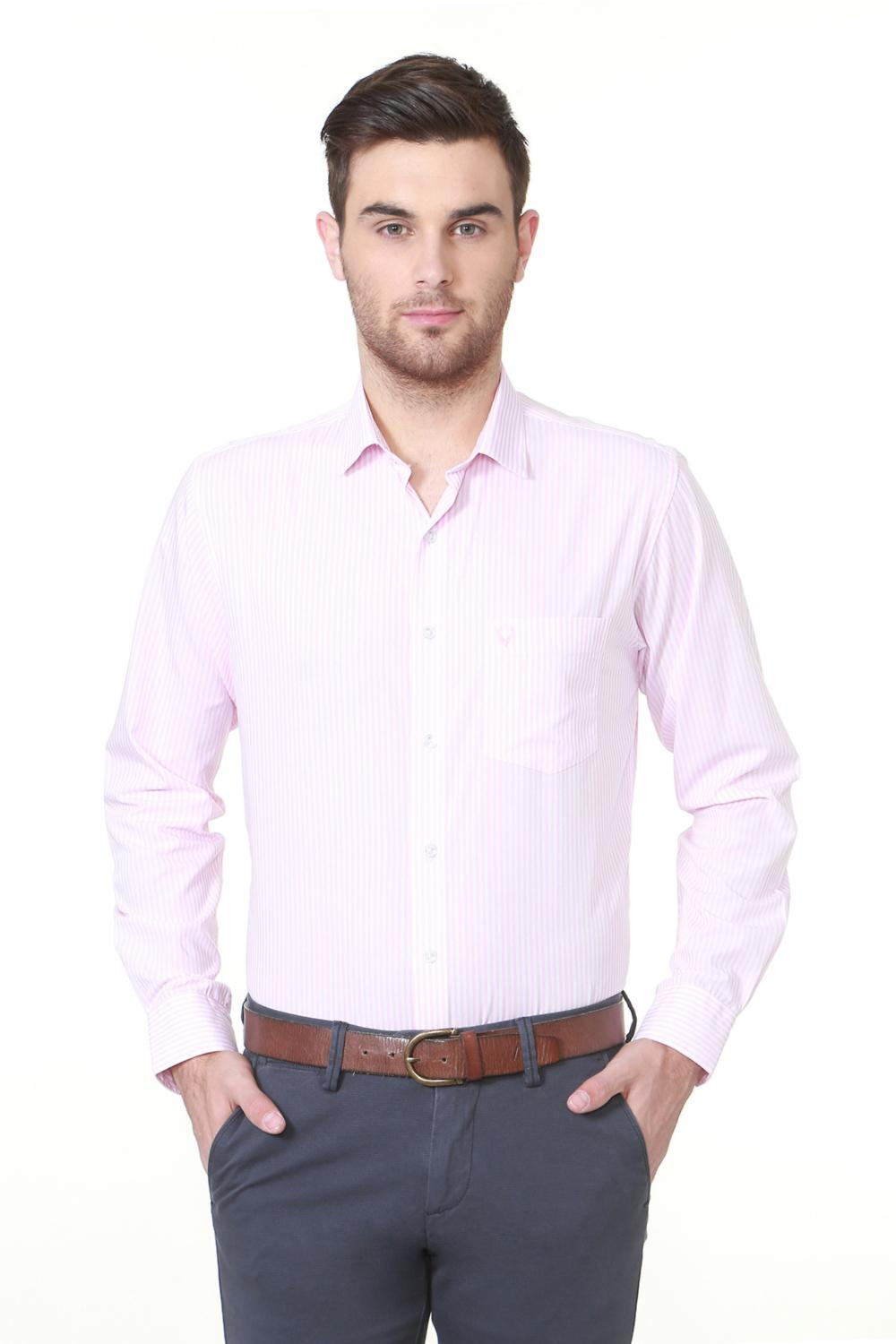 c6768d445a Allen Solly Shirts, Allen Solly Pink Shirt for Men at Allensolly.com