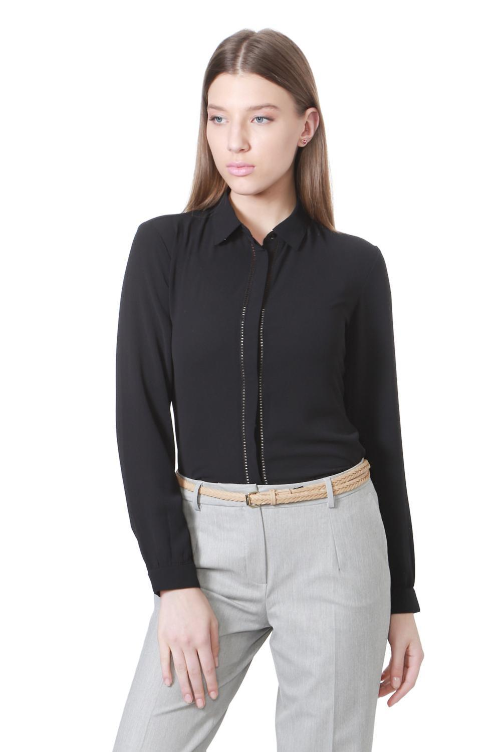 New Ladies Grey Blouse Style Shirt Formal Wear !!BUY ONE GET ONE FREE!!