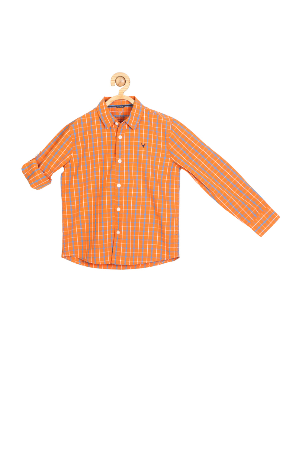 4aa3d150a Allen Solly Junior Shirts & Tees, Allen Solly Orange Shirt for Boys at  Allensolly.com