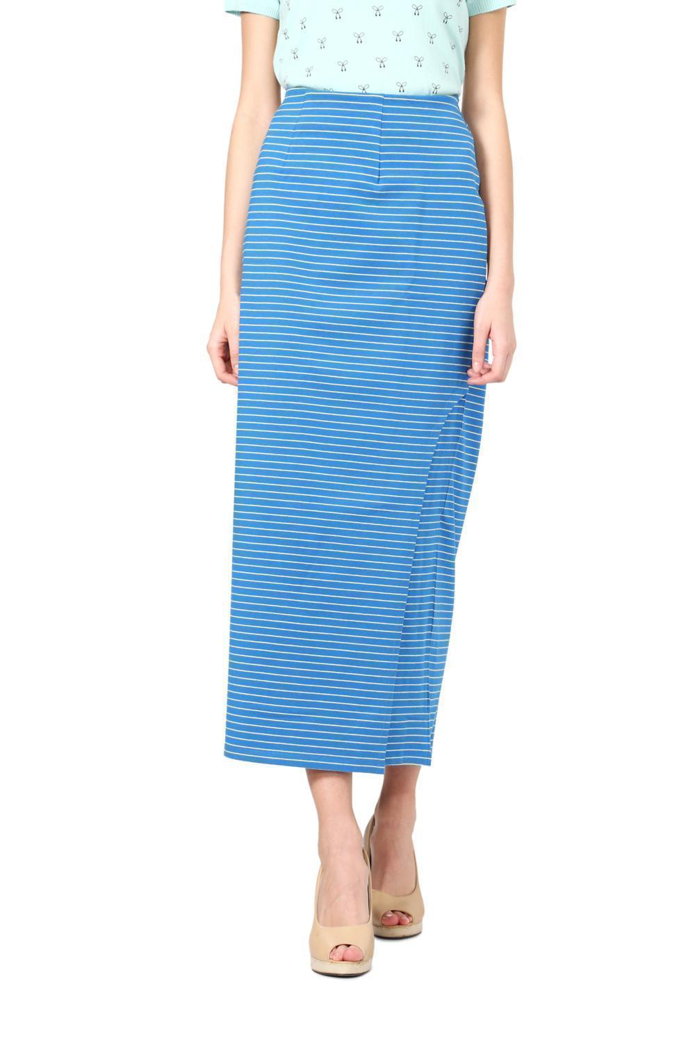 daa622d71 Solly Skirts, Allen Solly Blue Skirt for Women at Allensolly.com