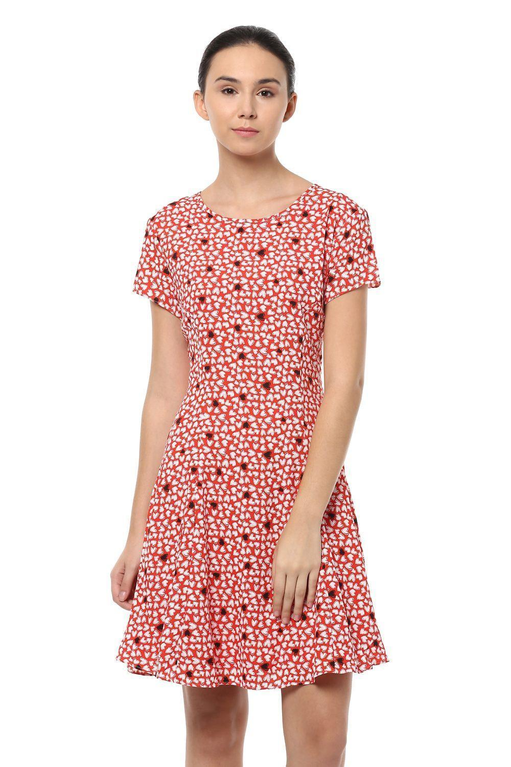 830487be17 Solly Dresses, Allen Solly Red Dress for Women at Allensolly.com