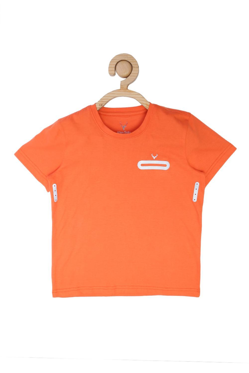 c3f6c7be4 Allen Solly Junior Shirts & Tees, Allen Solly Orange T Shirt for Boys at  Allensolly.com