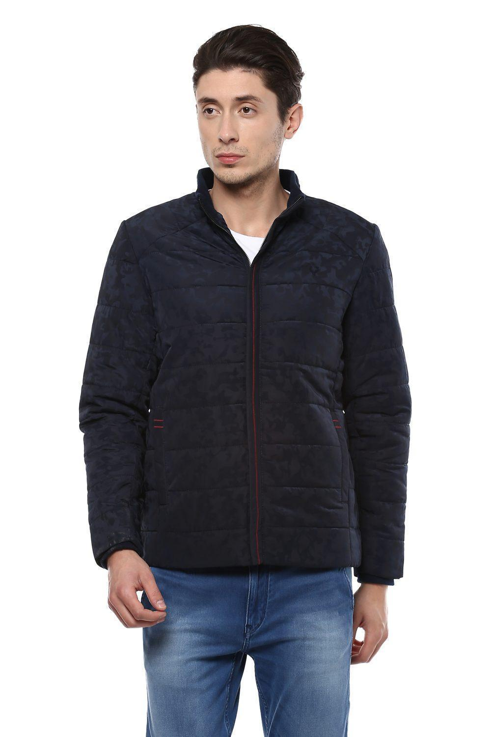 658809942 Solly Jeans Co Jackets, Allen Solly Navy Jacket for Men at Allensolly.com