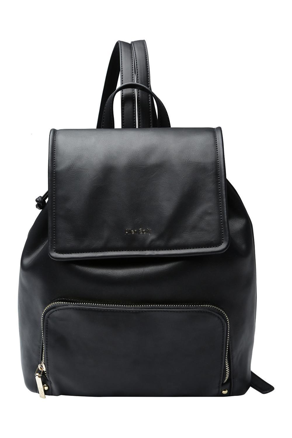 555fbcd83bf Solly Fashion Accessories, Allen Solly Black Backpack for Women at  Allensolly.com