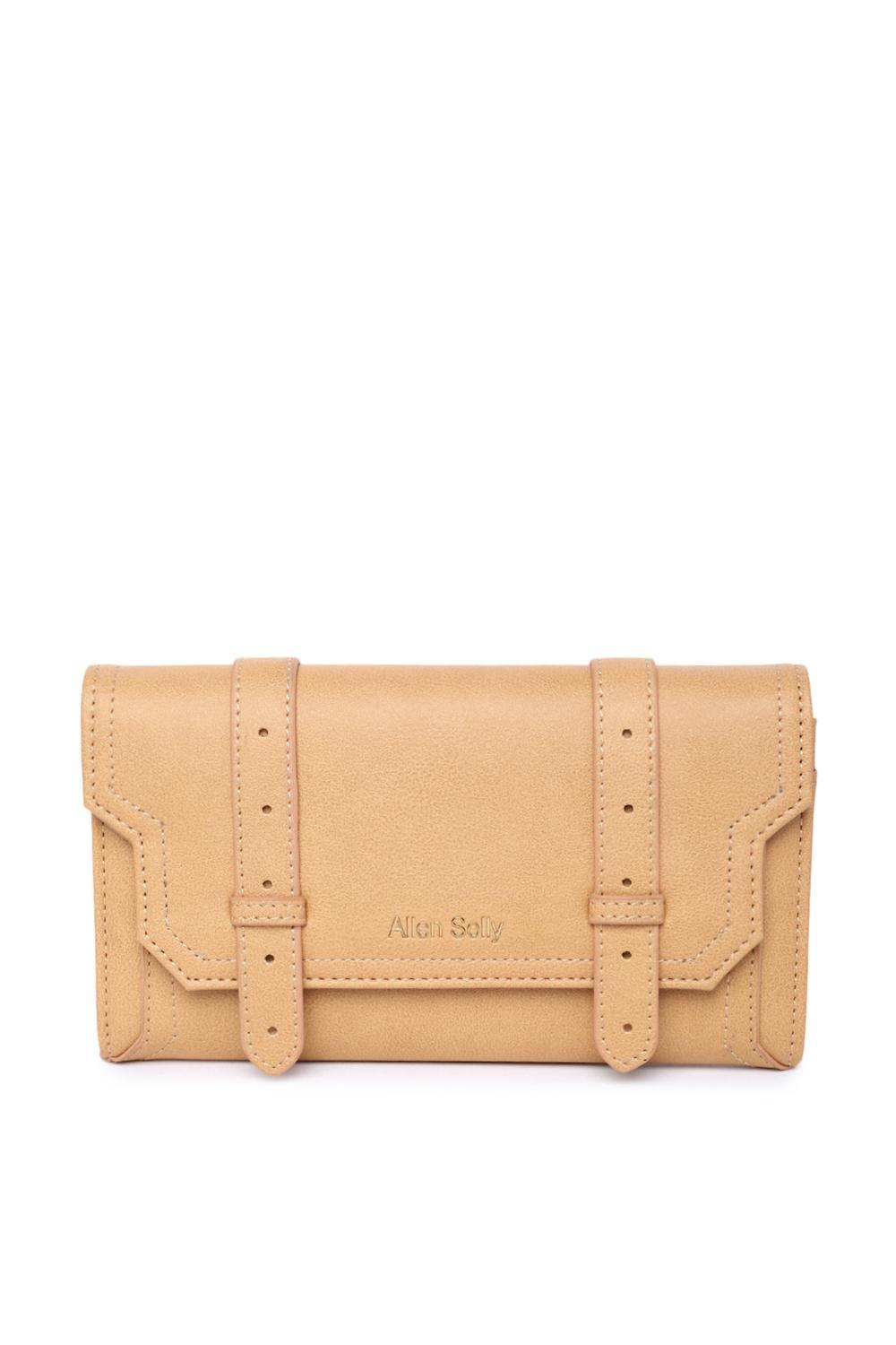b2e240c285 Solly Fashion Accessories, Allen Solly Tan Wallet for Women at  Allensolly.com