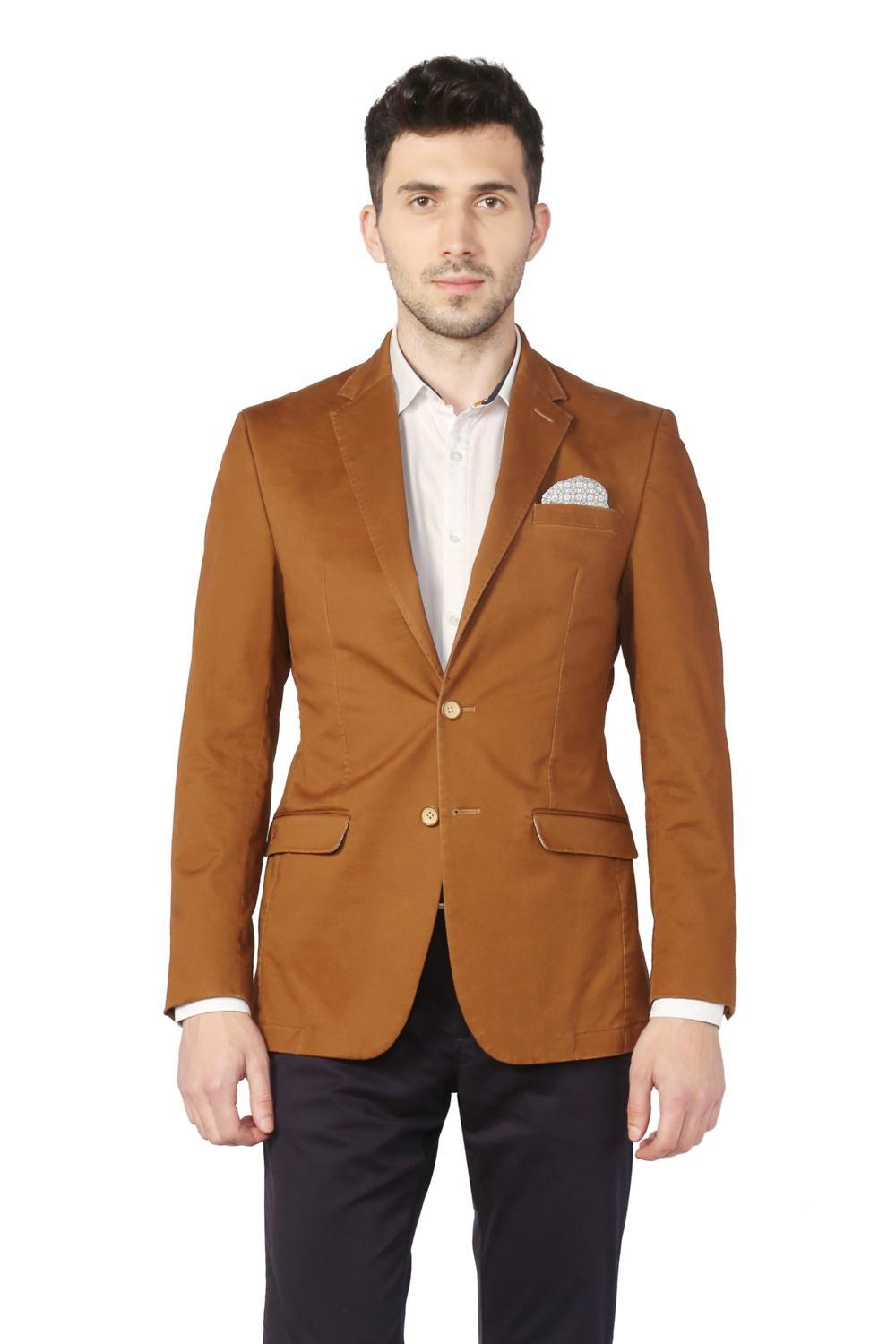 new products c3423 22a28 Allen Solly Suits & Blazers, Allen Solly Brown Blazer for Men at  Allensolly.com