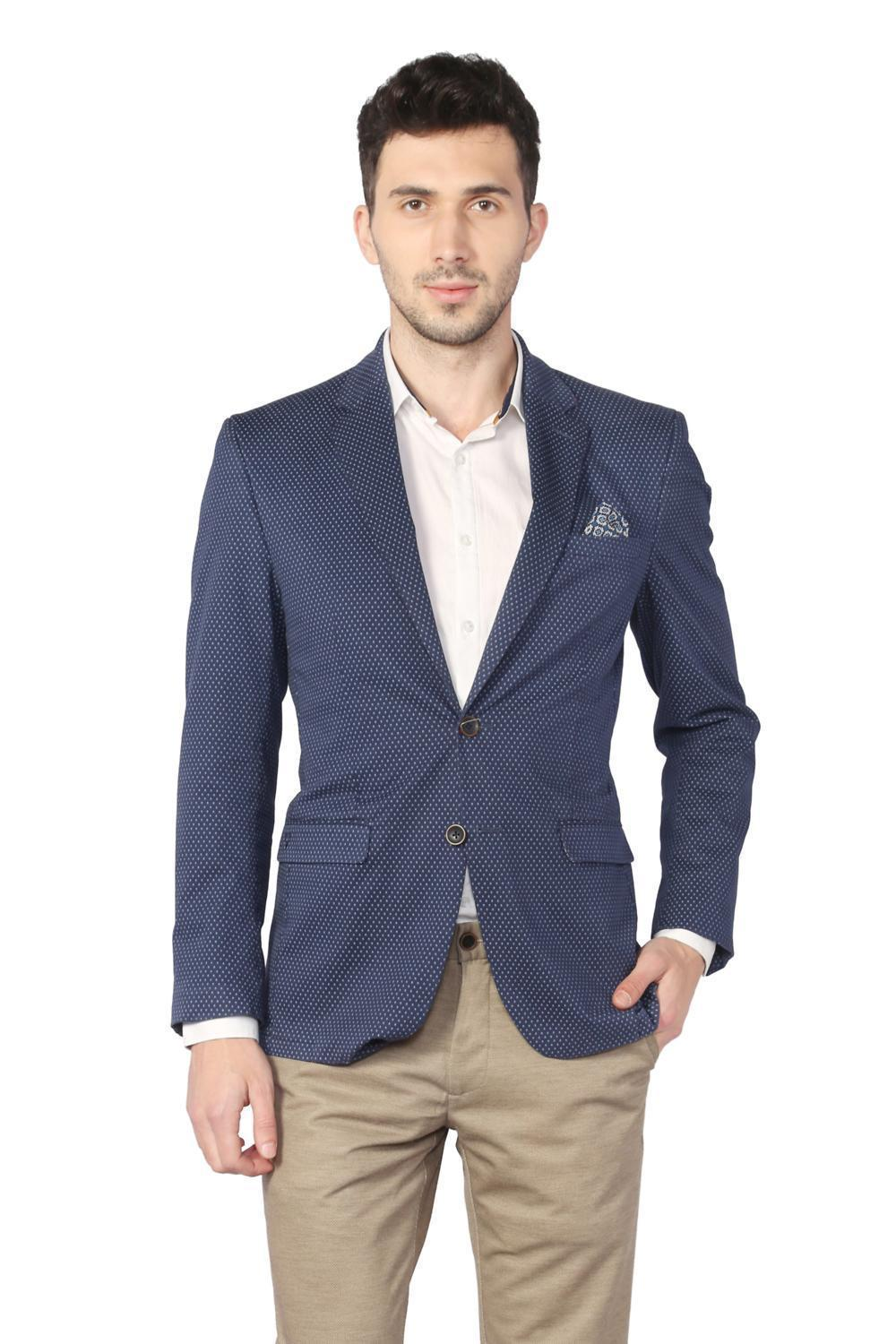 aaa6b9f57 Allen Solly Suits & Blazers, Allen Solly Blue Blazer for Men at  Allensolly.com