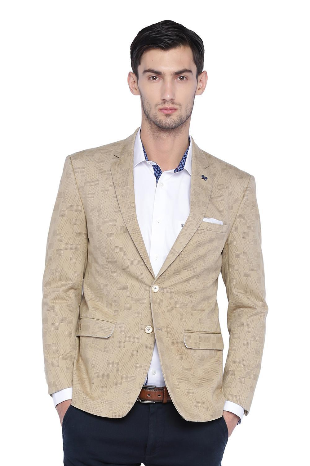 super service differently many fashionable Solly Sport Suits & Blazers, Allen Solly Khaki Wimbledon Blazer for Men at  Allensolly.com