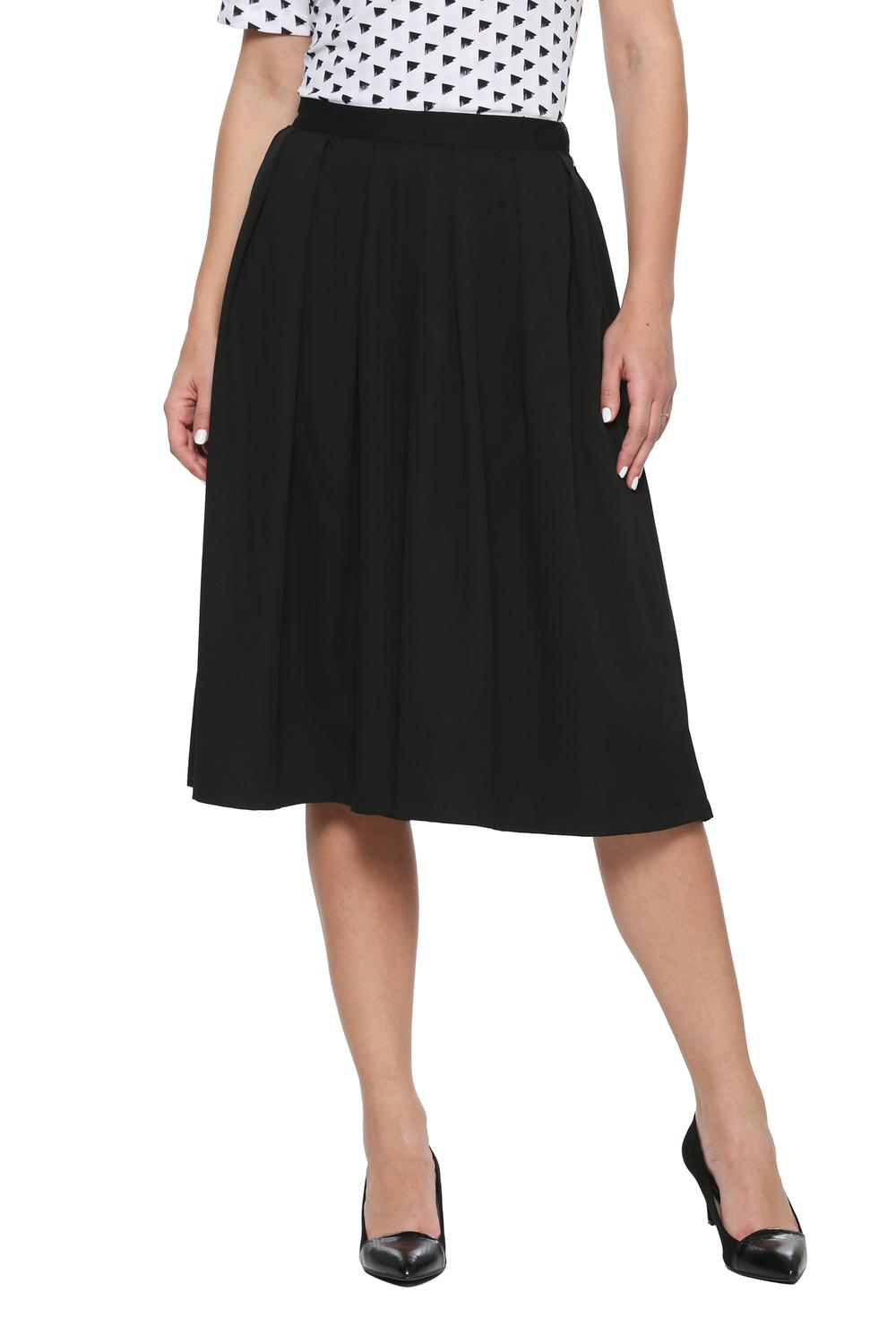 c80da9320d Solly Skirts, Allen Solly Black Skirt for Women at Allensolly.com