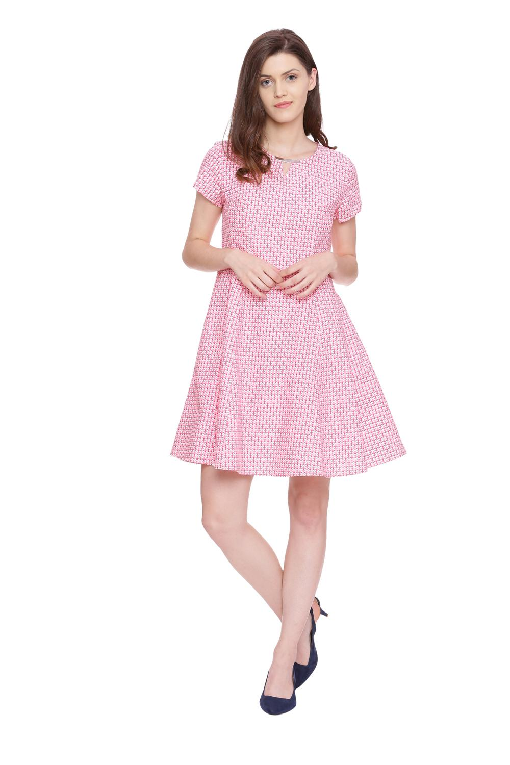 10e762401898 Solly Dresses, Allen Solly Pink Dress for Women at Allensolly.com