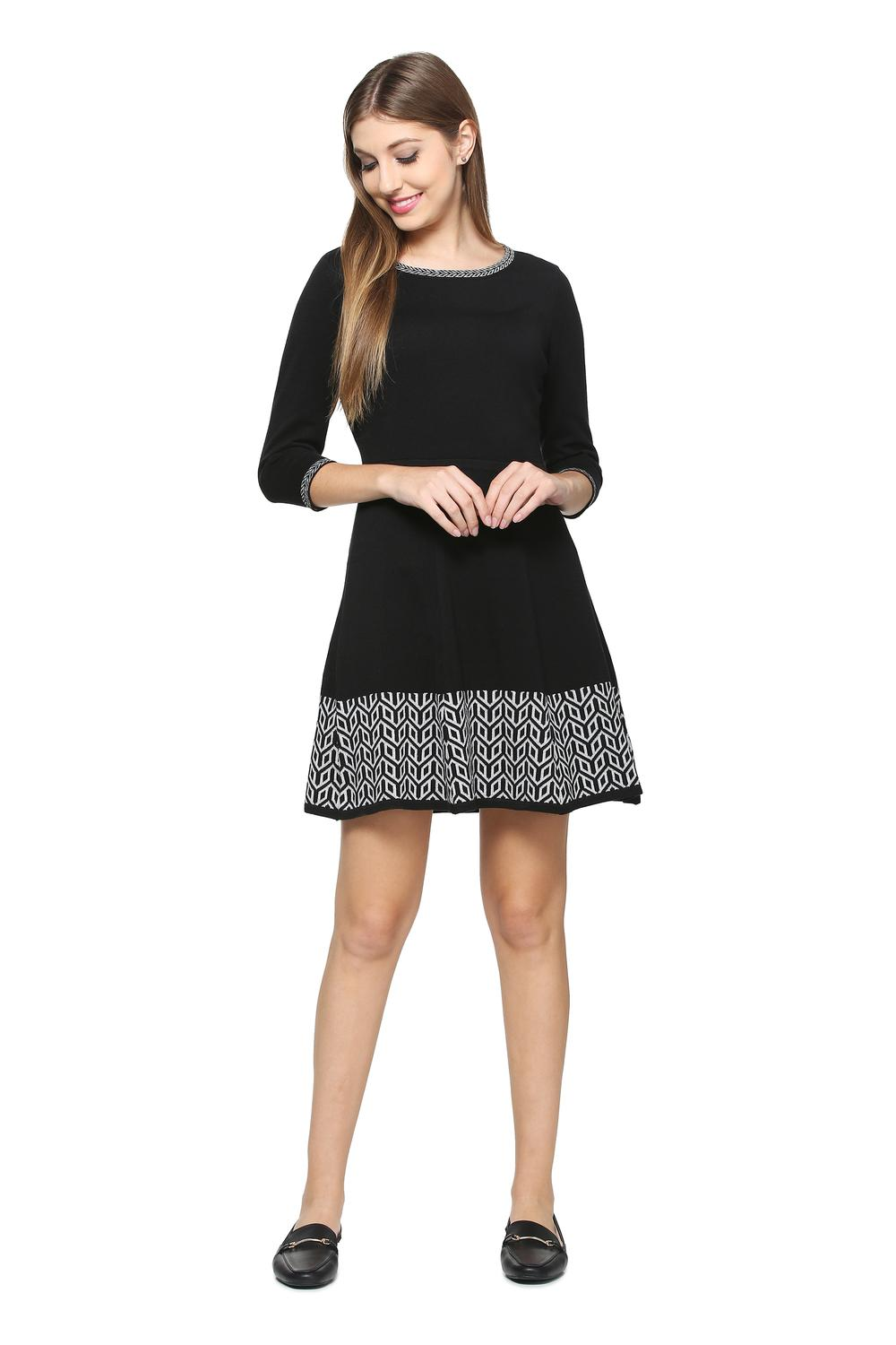 0fe9bfdc13 Solly Dresses, Allen Solly Black Dress for Women at Allensolly.com