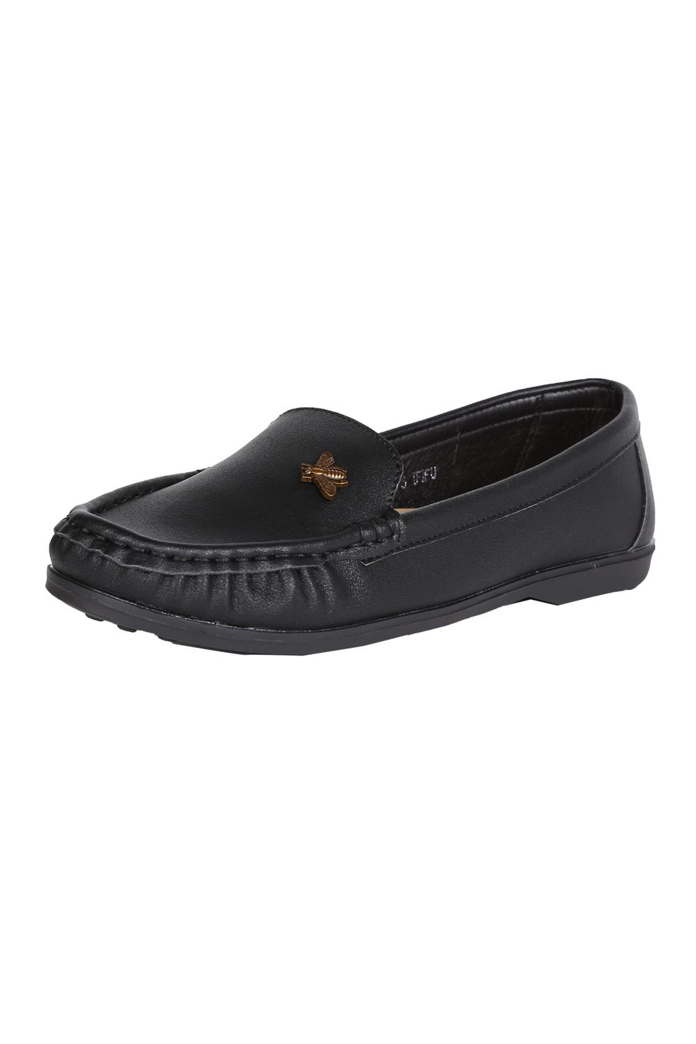 Allen Solly Black Loafers