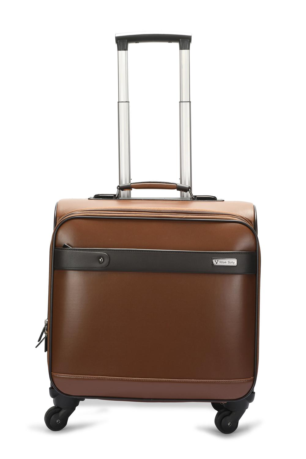 4fc5d4753140 Allen Solly Accessories, Allen Solly Brown Trolley Bag for Men at  Allensolly.com