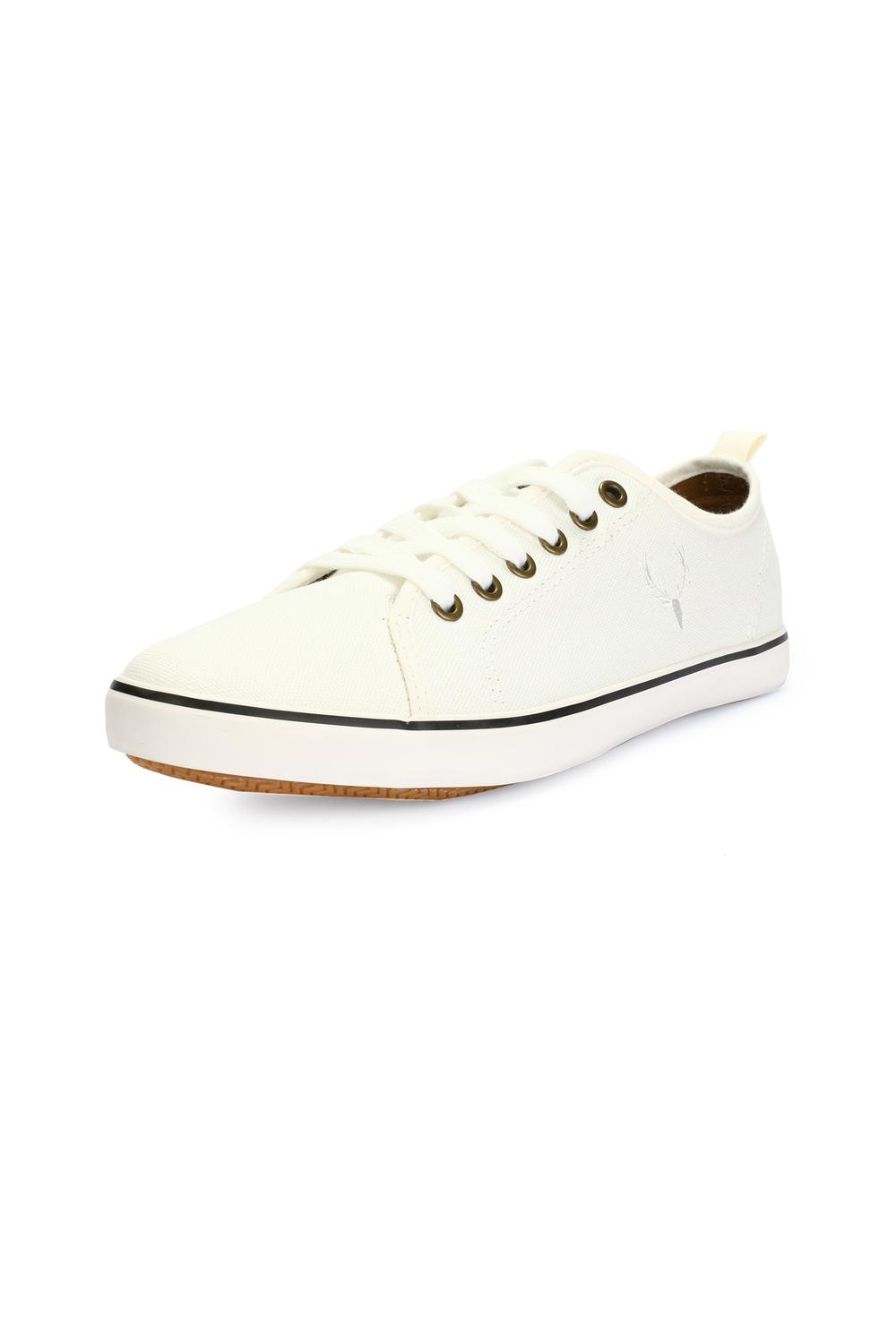Allen Solly White Casual Shoes for Men