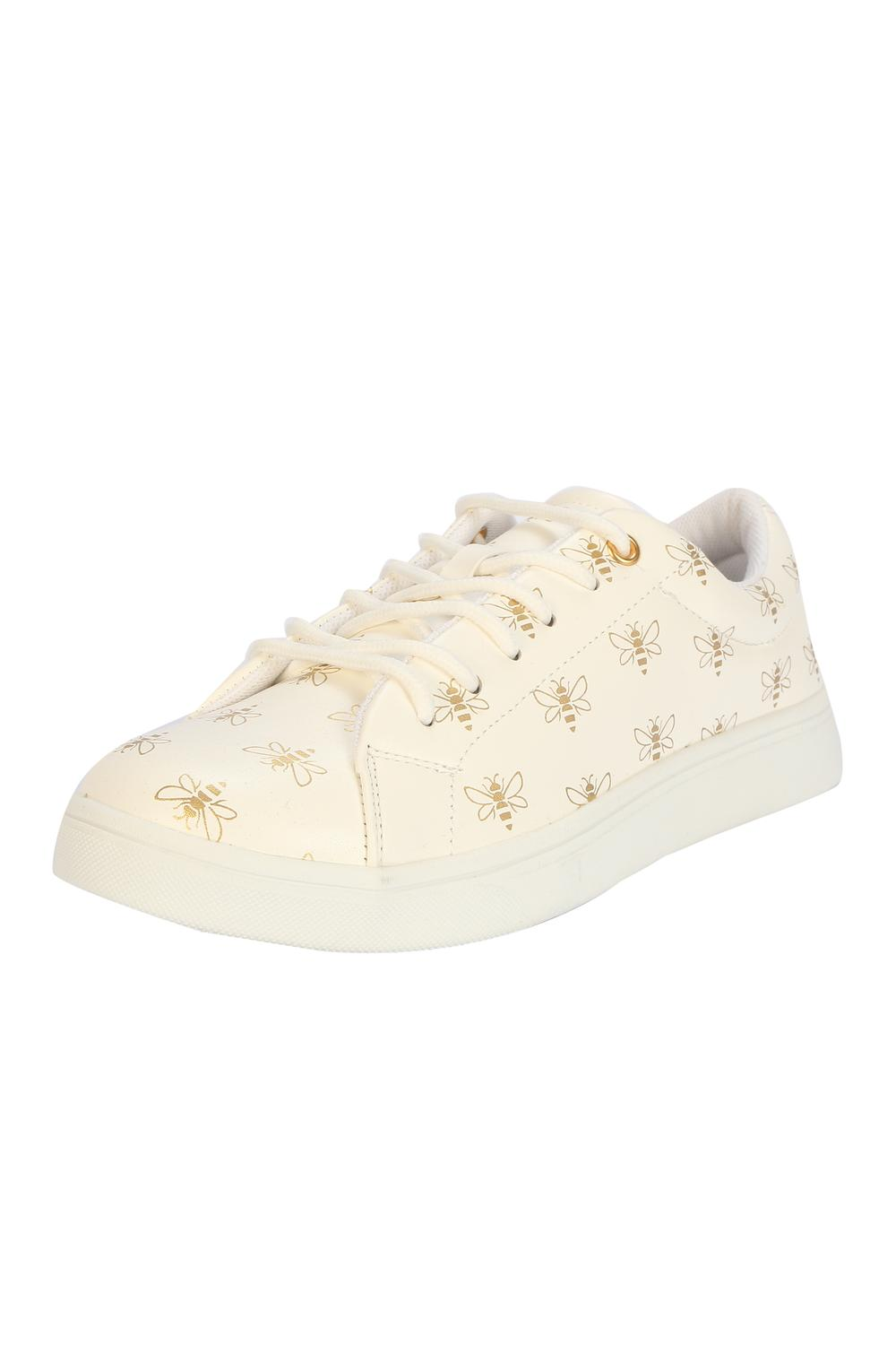 allen solly white shoes