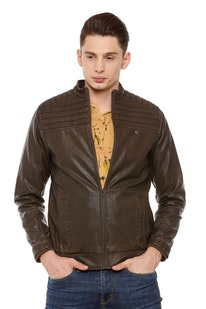 194626b9a Buy Mens Allen Solly Jacket,Leather Jacket Online in India ...