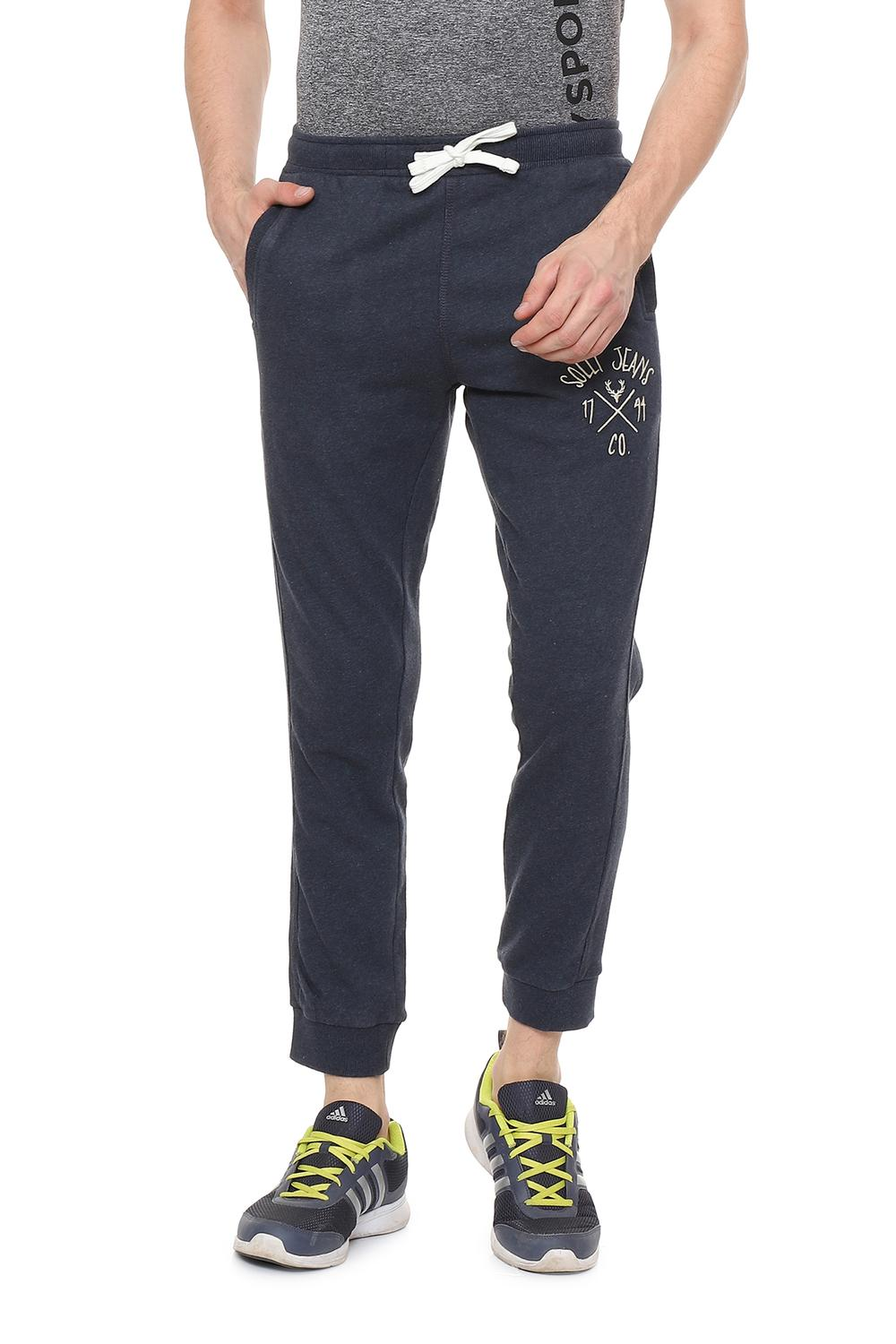 e2bb6a0457 Solly Jeans Co Active Wear, Allen Solly Blue Track Pants for Men at  Allensolly.com