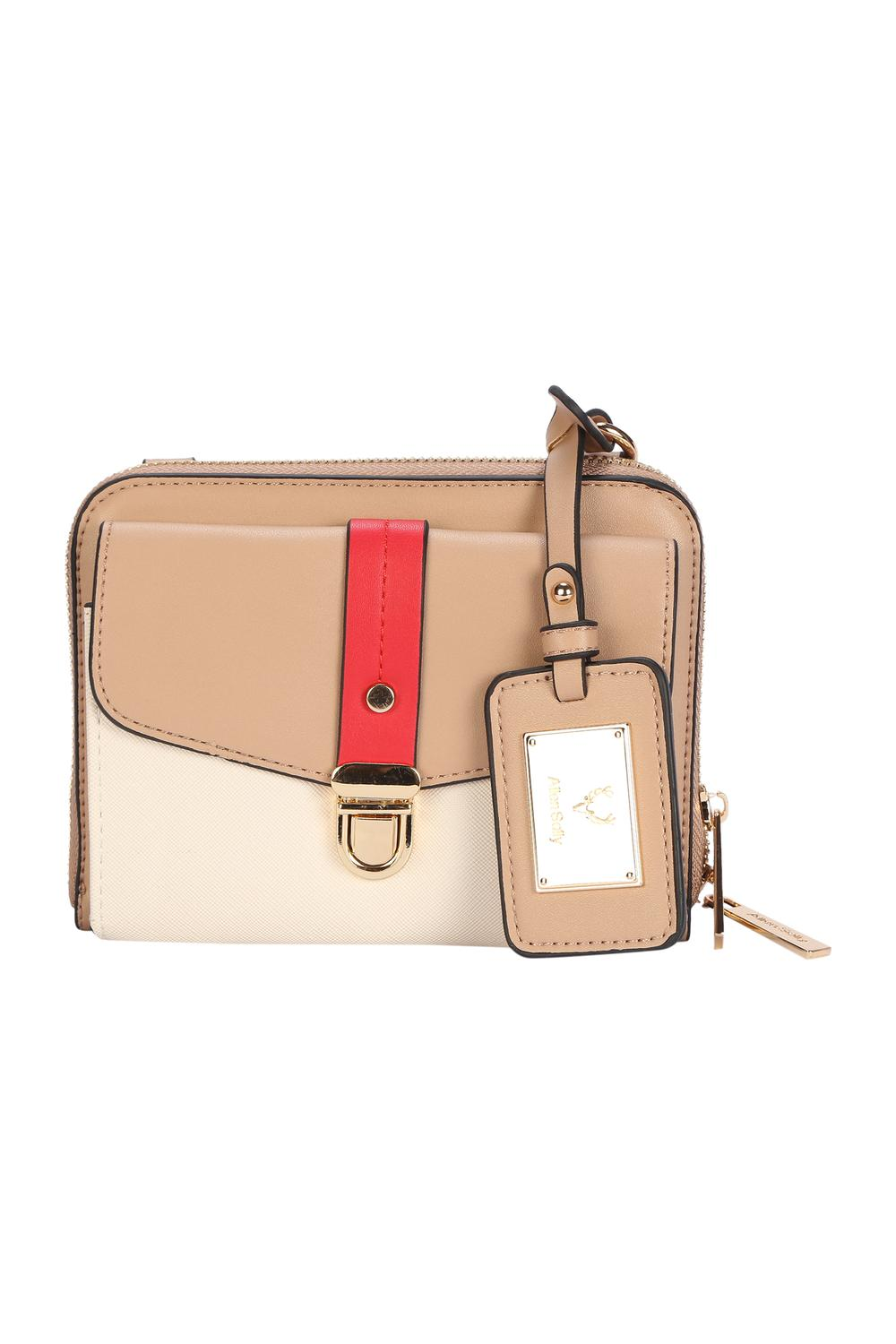 27f3fd8e3c Solly Fashion Accessories, Allen Solly Beige Clutch for Women at  Allensolly.com