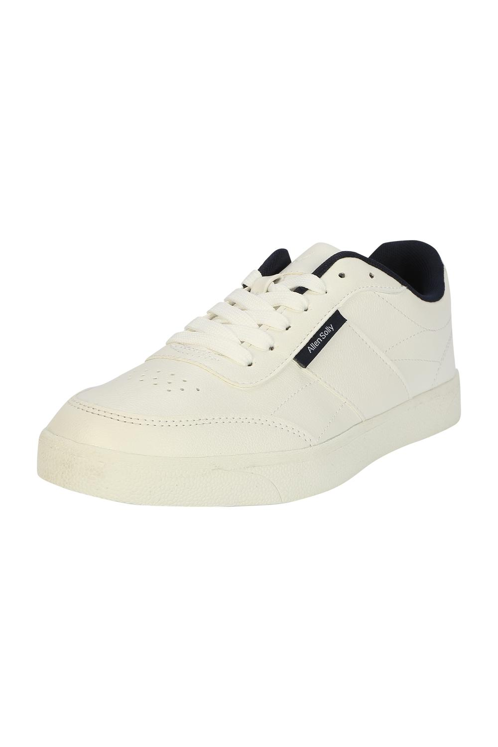 Allen Solly White Casual Shoes