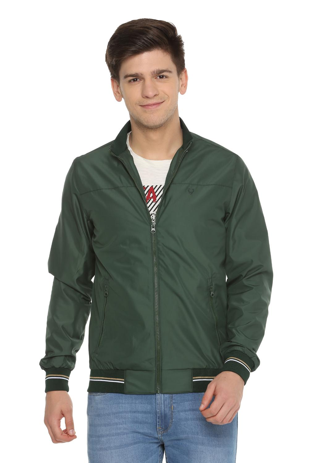 8c6a4ee36a2c1 Allen Solly Jackets, Allen Solly Green Jacket for Men at Allensolly.com