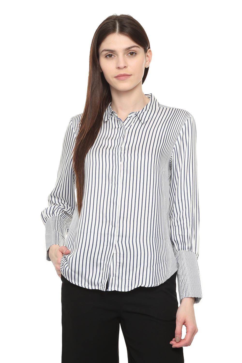14c0240d37 Solly Shirts & Blouses, Allen Solly White Shirt for Women at Allensolly.com