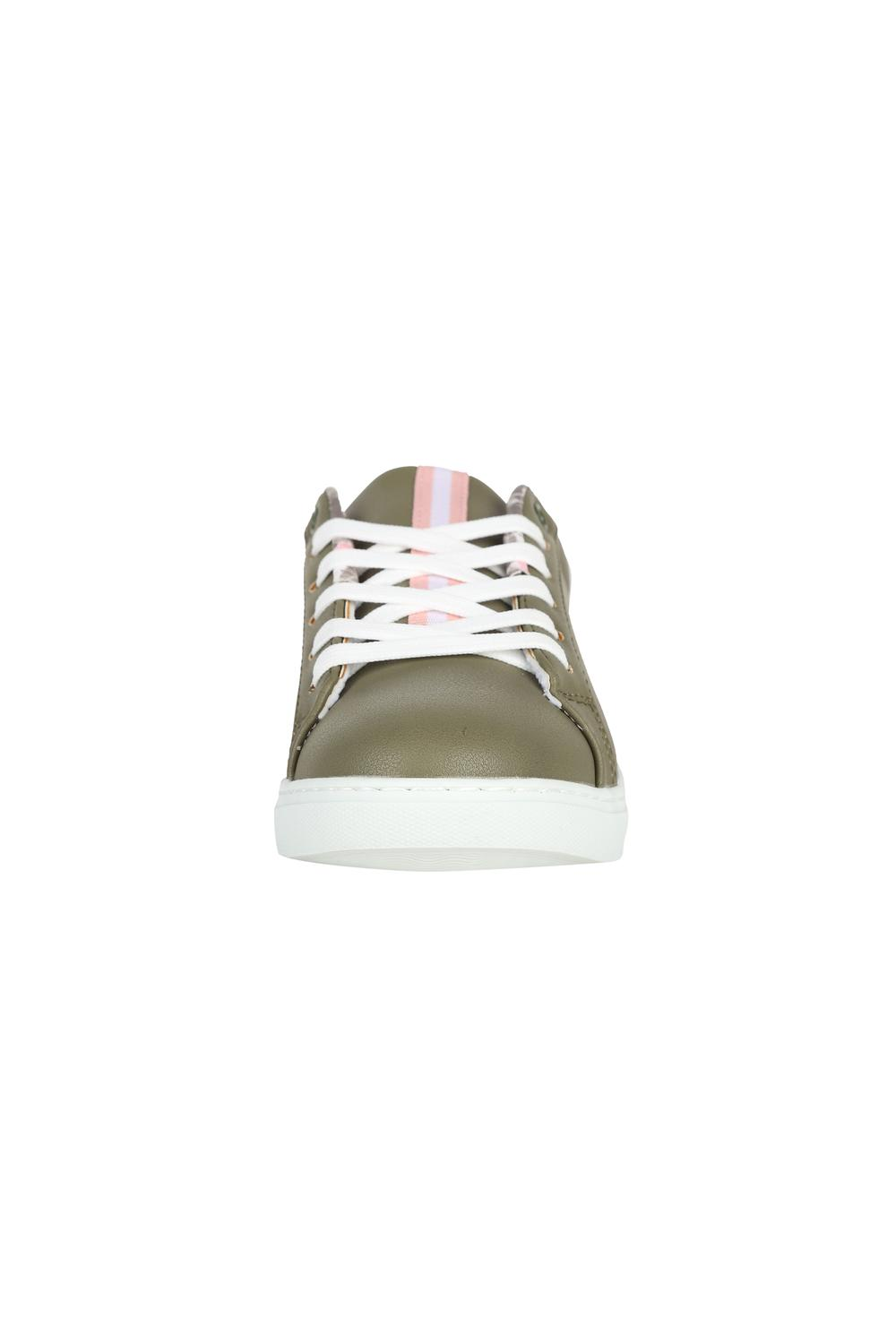 Solly Footwear, Allen Solly Olive Lace