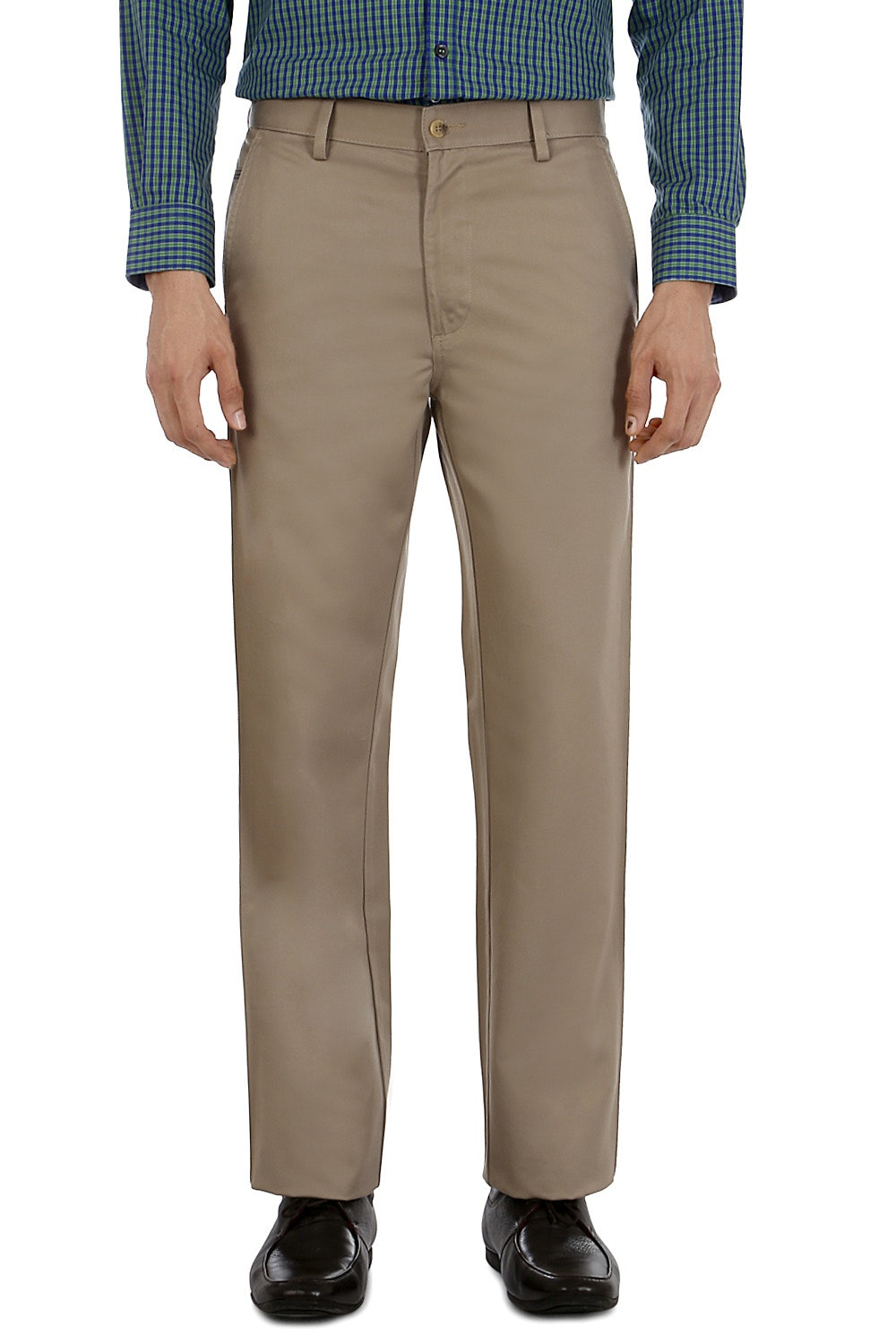 2b6e57e78 Allen Solly Trousers & Chinos, Allen Solly Khaki Trousers for Men at ...