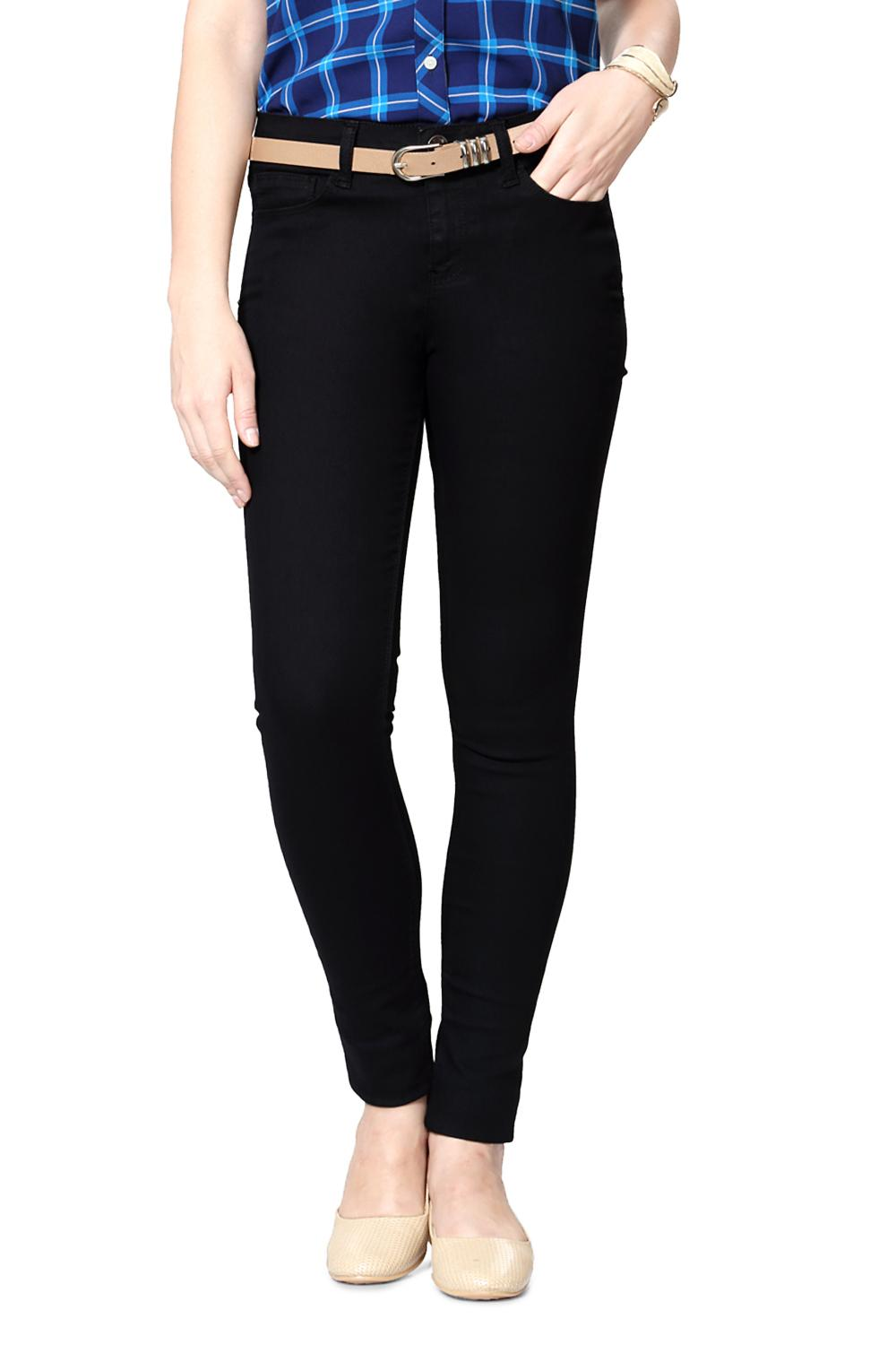 269e907065ff Solly Jeans & Jeggings, Allen Solly Black Jeans for Women at Allensolly.com